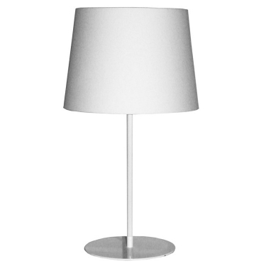 Metal Upright Lamp - White