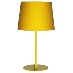 Metal Upright Lamp Yellow