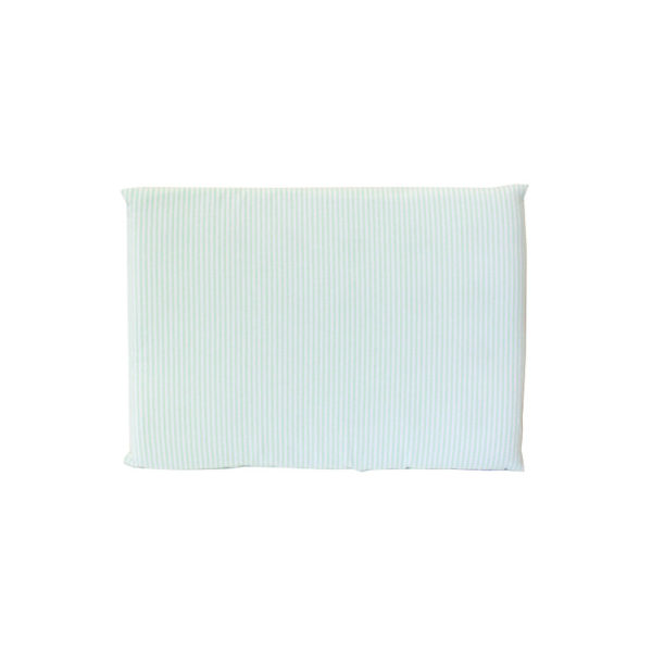 Mint Stripe Cot Pillowcase