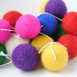 Felt Garland - Multicolour