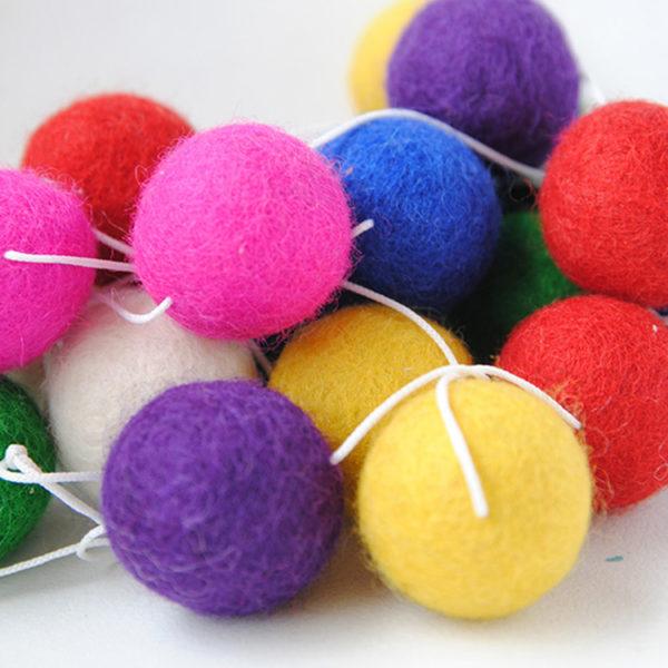 Felt Garland - Multicolour
