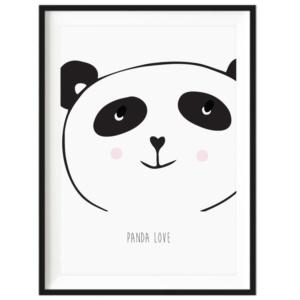 Art Print - Panda Love
