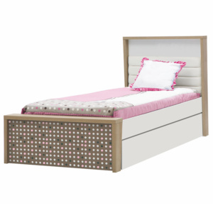 Pink Point Trundle Bed