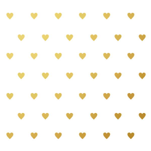 Hearts Decal