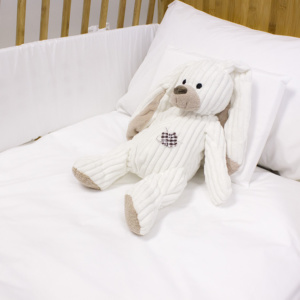 Pure White Cot Set - Cot Duvet Cover