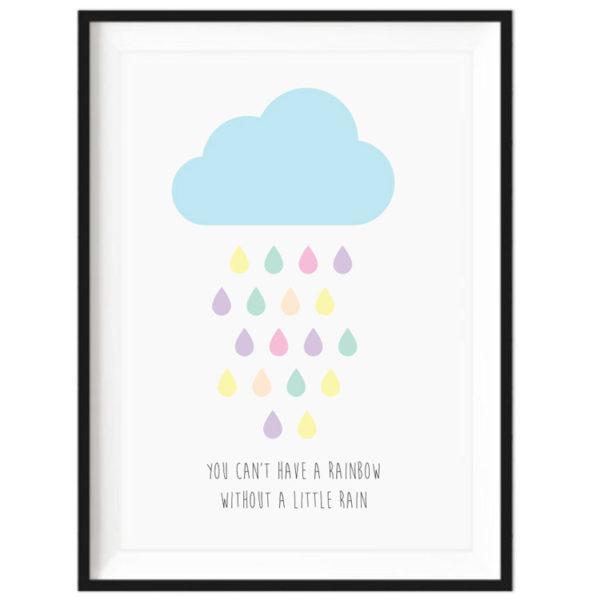 Art Print - Rainbow Rain