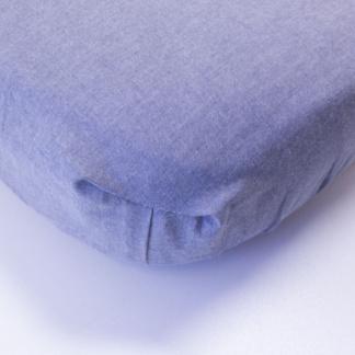 Bunni Dark Grey Cot Fitted Sheet