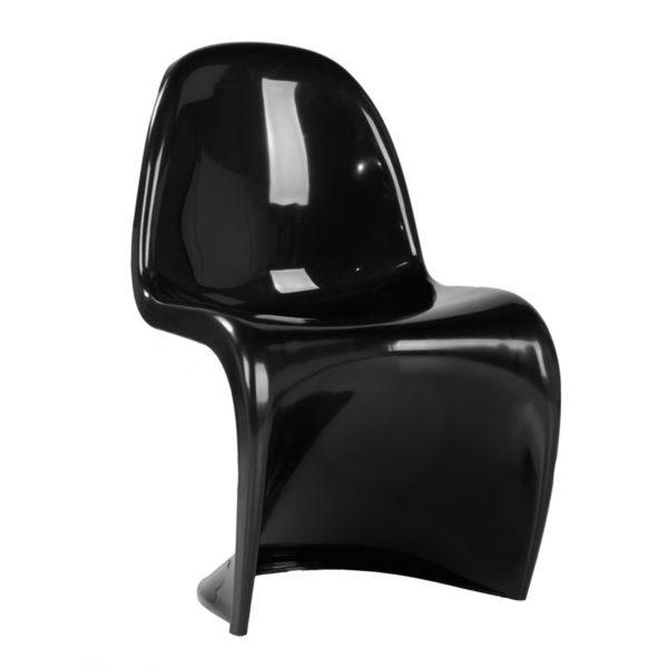 Replica Black Panton S Kids Chair
