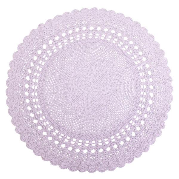 Sebra Crochet Floor Mat