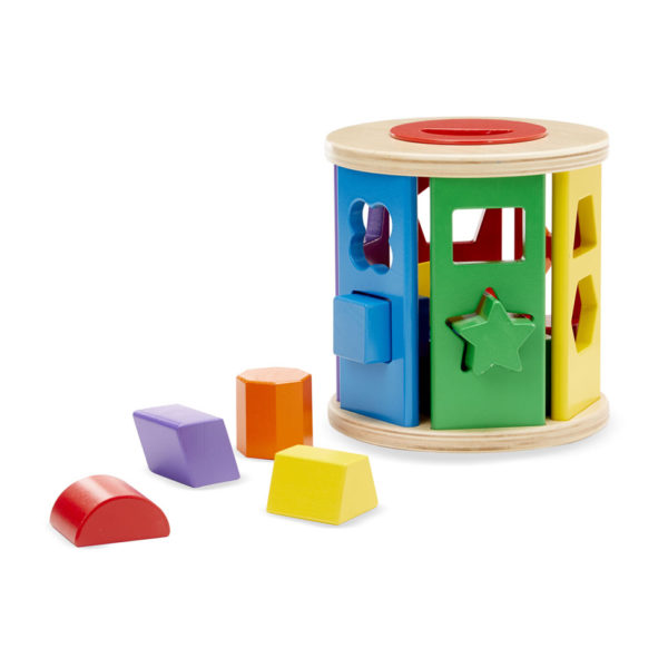 Shape Sorting Drum