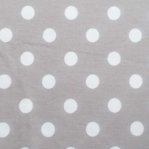 Silver Dot Fabric