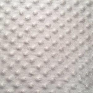 Silver Minky Fabric