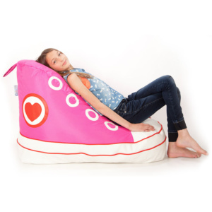 Sneaker Pink Beanbag for Girls