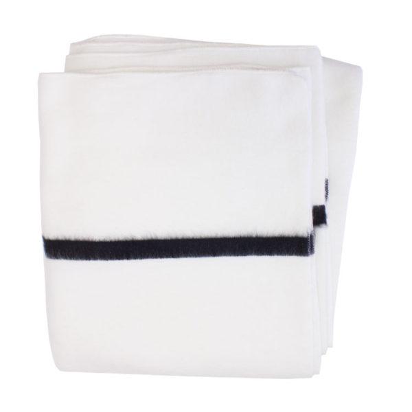 Icelantic Blanket - Black Stripe