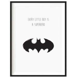 superhero-decor-print