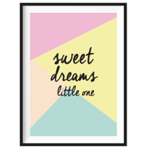 Art Print - Sweet Dreams Little One