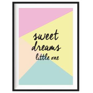 Art Print - Sweet Dreams Little One