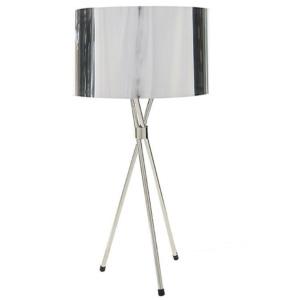 Tri Table Lamp - Chrome