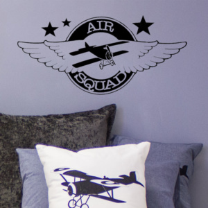 Bunni Vintage Airplane Decal