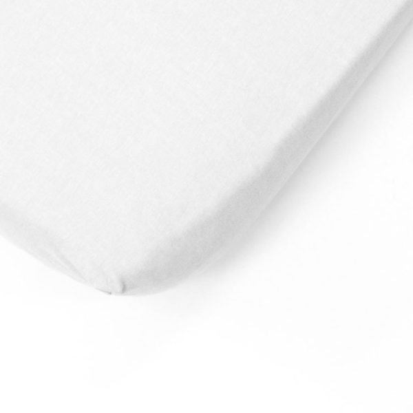 White Cot Fitted Sheet