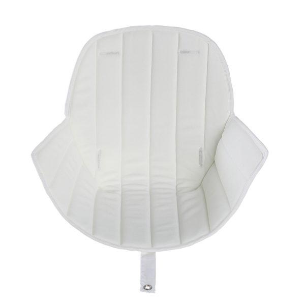 White Ovo Seatpad