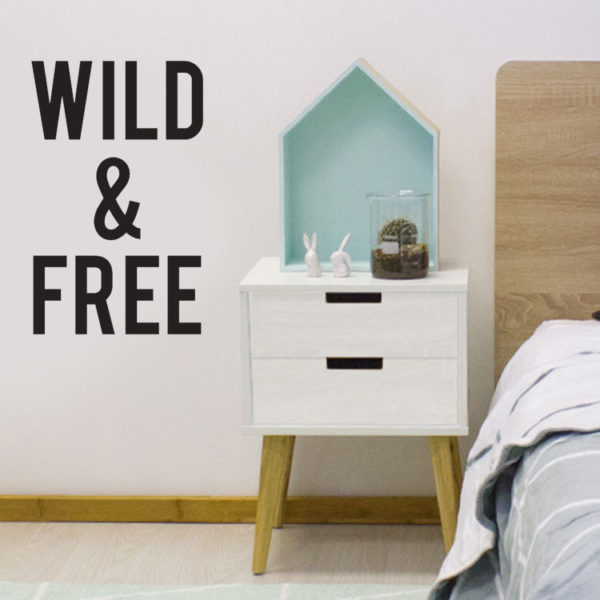 Wild & Free Decal