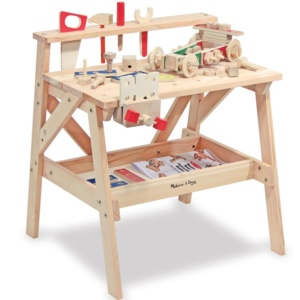 Wooden Project Workbench for Kids