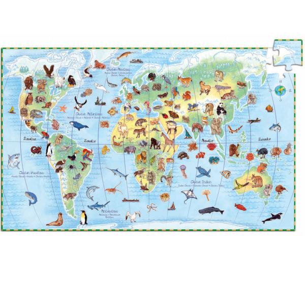 World Animal Puzzle Djeco
