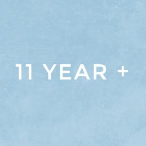 11 Year Plus
