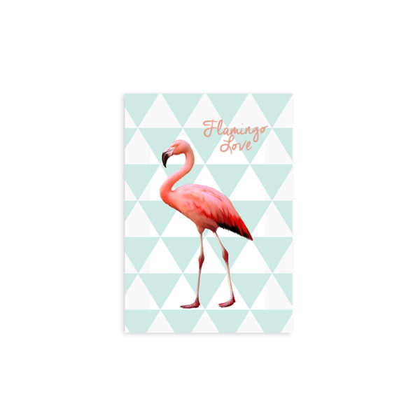 Flamingo Love Print