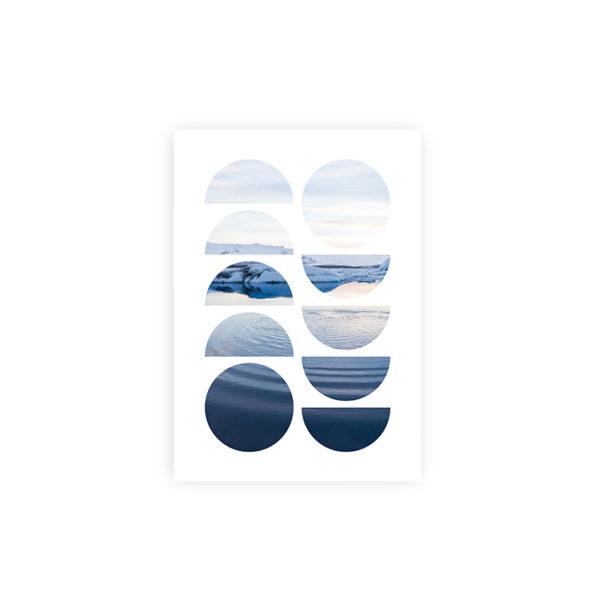 Geo Ocean Art Print