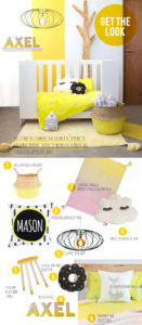 Get the look Mellow Yellow Nursery Decor Clever Little Monkey