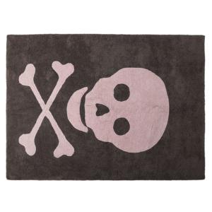 Skull Rug - Pink