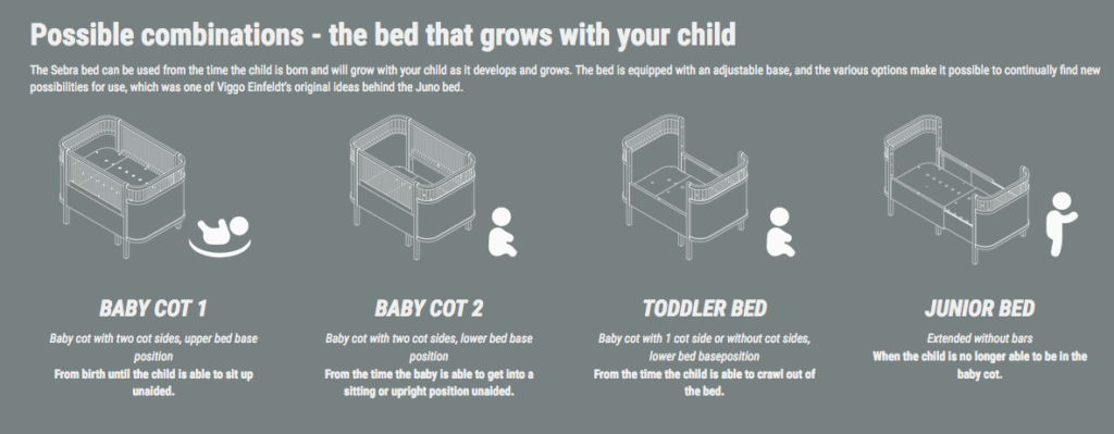 Cot Grows With Your Child Clever Little Monkey