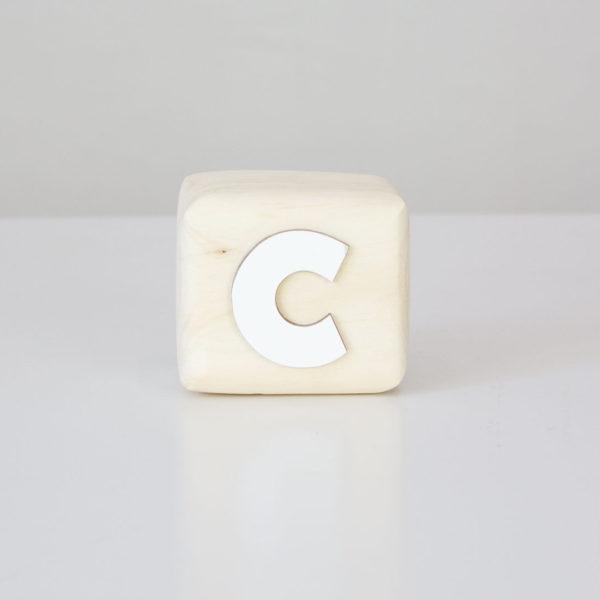 Wood Block Letters - C