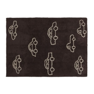 Cars Rug - Brown
