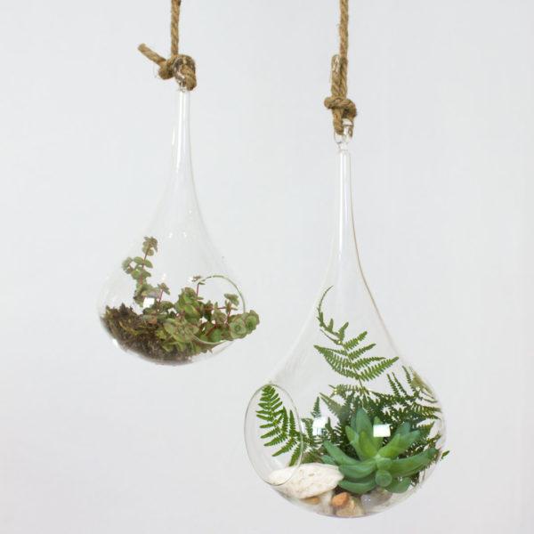 Glass Hangers Drops