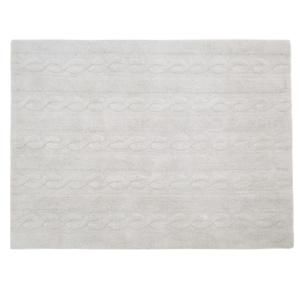 Braided Rug - Pearl Grey