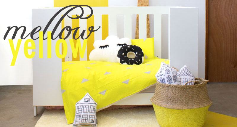 Mellow Yellow Nursery Decor Clever Little Monkey
