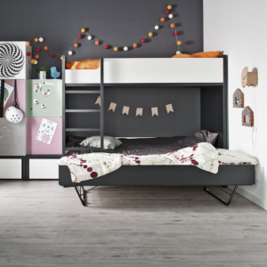 Young Users Trundle Bunk Bed-Kids furniture