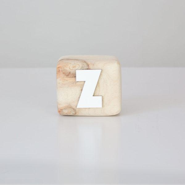 Wood Block Letters - Z