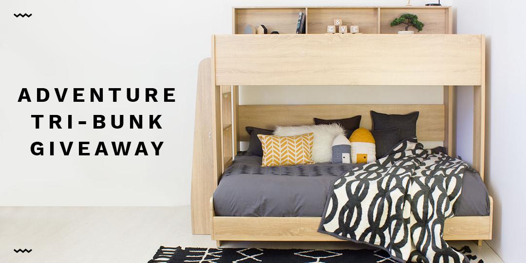 Adventure Tri-bunk giveaway