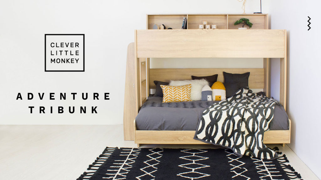 Space saving bunk beds