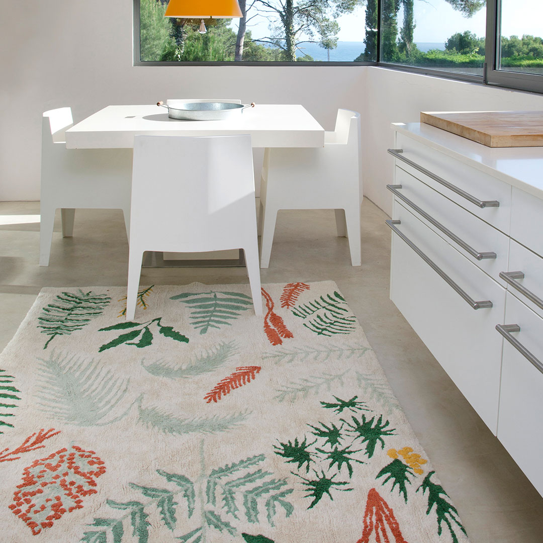 Botanic Plants Rug By Lorena Canals Clever Little Monkey