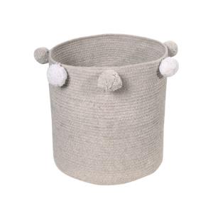 Baby Basket Bubbly Grey
