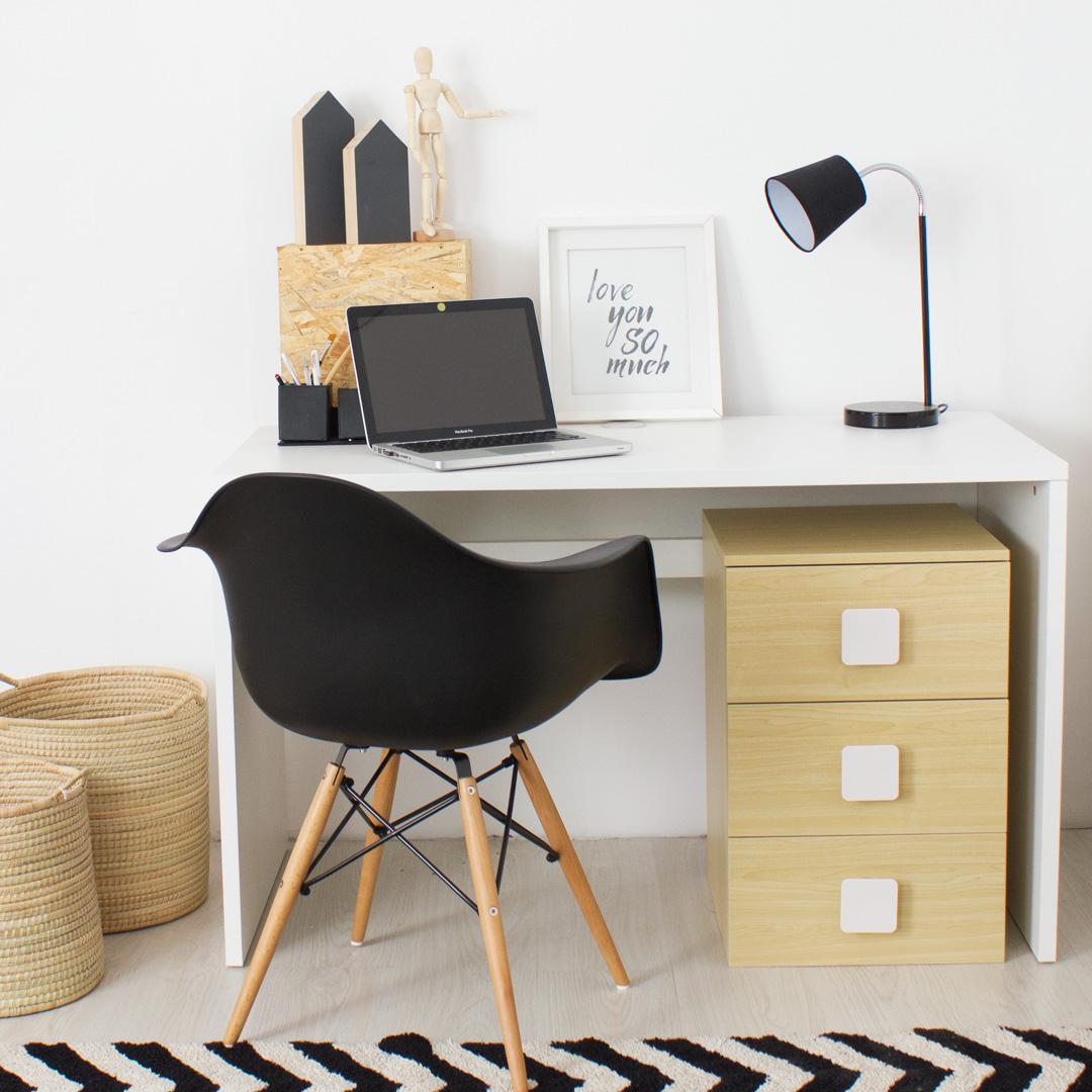 kids desk. Flant \u0026 Mungo Kids Desk With 3 Drawer Cabinet L