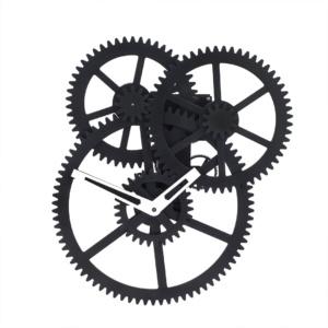 Wall Clock Triple Gear