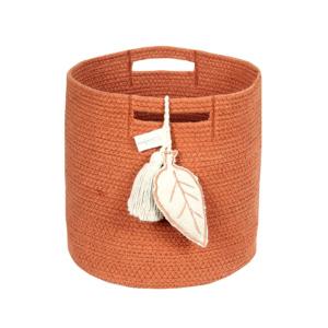 Basket Leaf Terracota