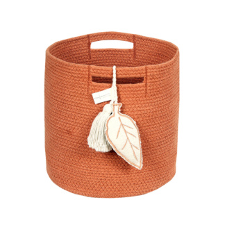 Leaf Basket - Terracota