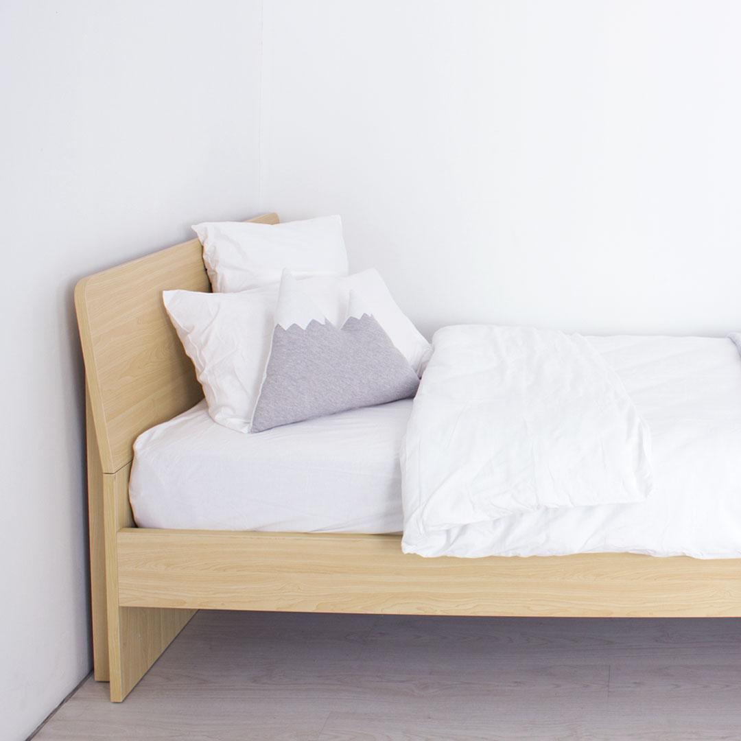 Loki Woodgrain Bed 3 4 For Kids Clever Little Monkey